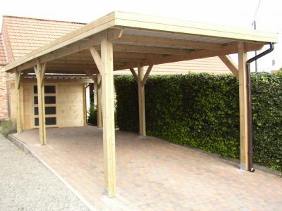 index of carport image carport toit plat m. Black Bedroom Furniture Sets. Home Design Ideas