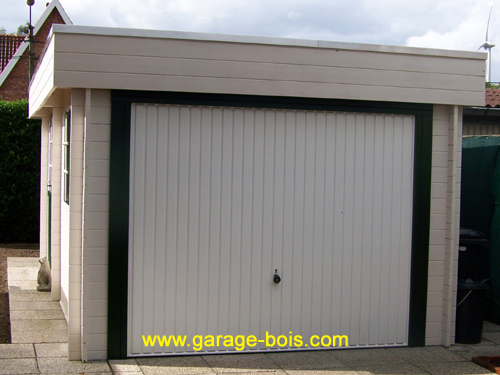 Index of garage m image for Garage en bois a toit plat